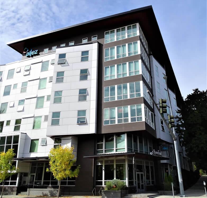 Allez Apartments, Redmond, WA Feature Swisspearl Cement